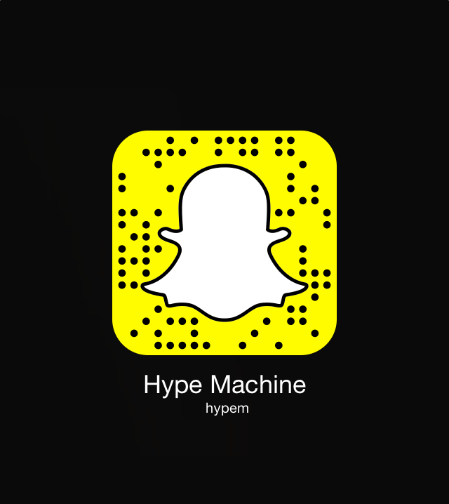 hype machine snapchat