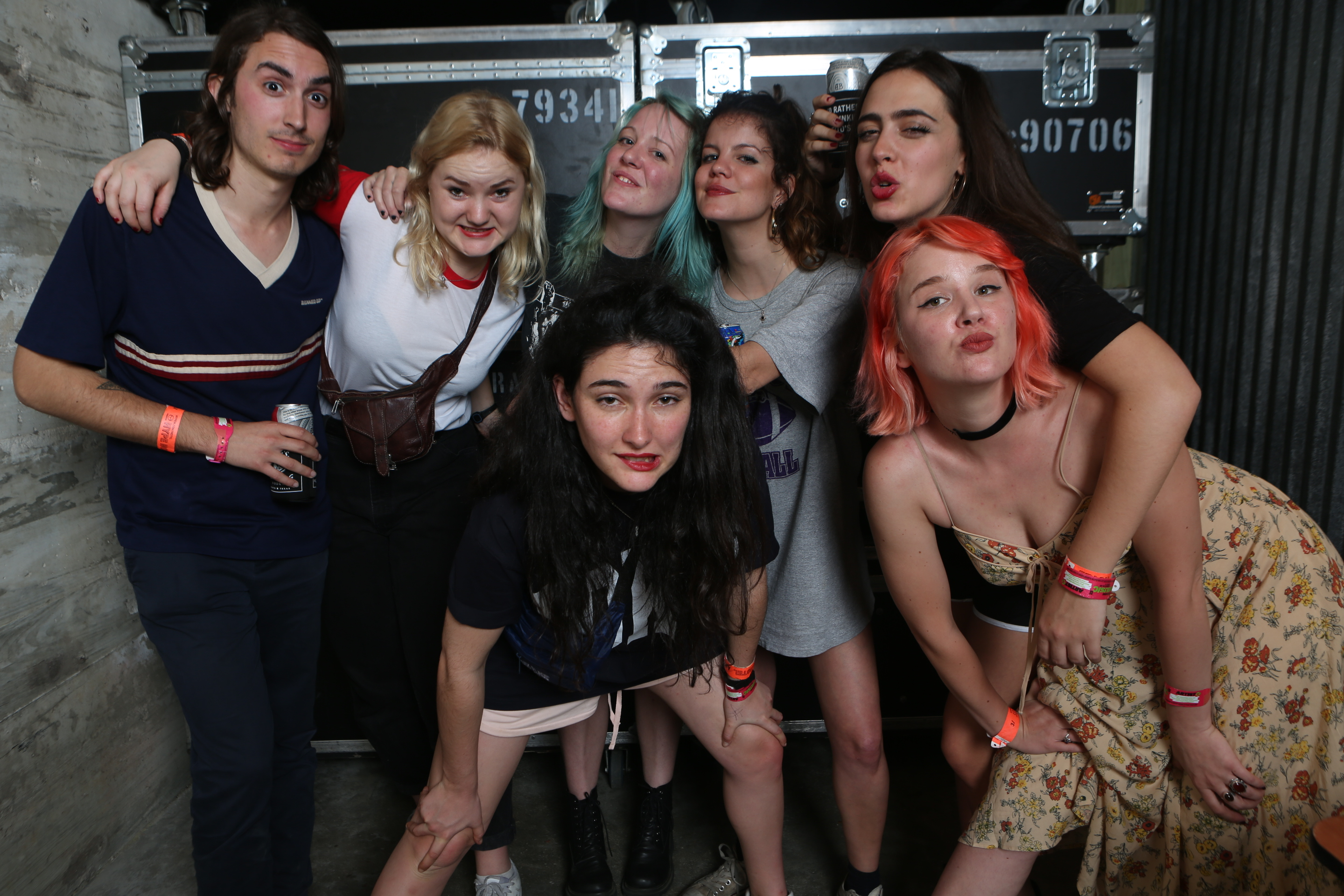 HINDS & Bleached at Hype Hotel
